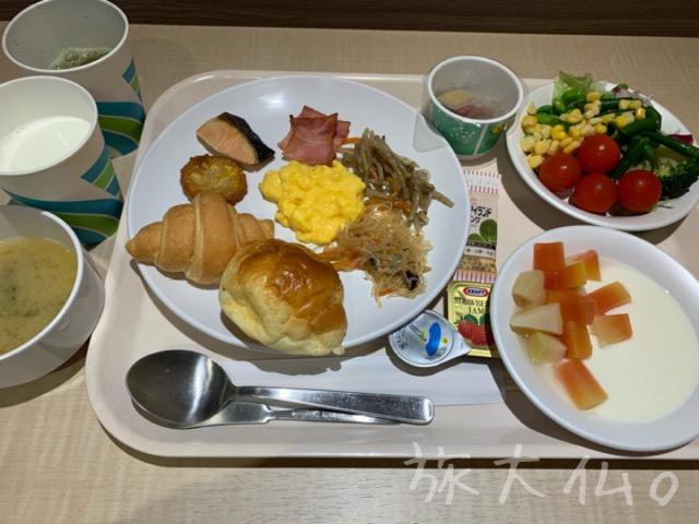 さんふらわあレストランの朝食