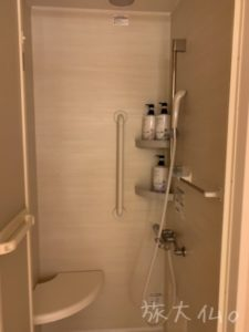 さんふらわあシャワー室